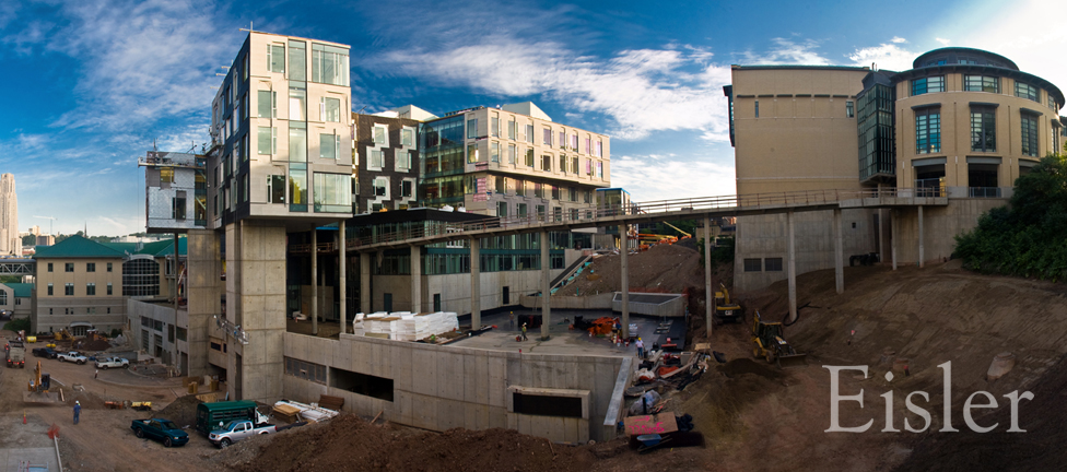 CMU Gates Hillman Complex under construction